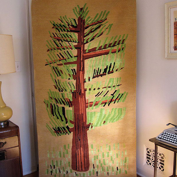 Cedar in Natural - Handmade Rug