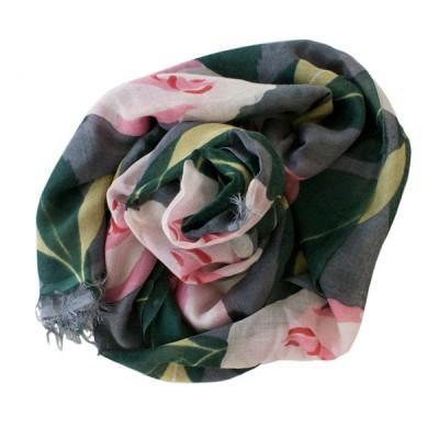 Camellia cashmere pashmina shawl