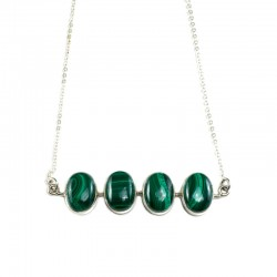 Capital Malachite Necklace