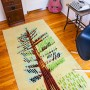 Handmade Rug - Cedar in Blue