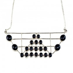 empire black onyx necklace