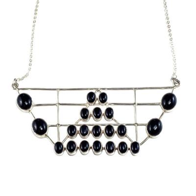 empire black onyx necklace