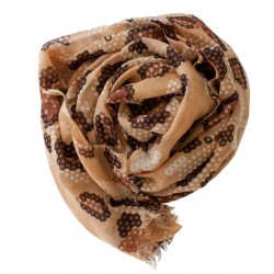 hexagon pashmina scarf