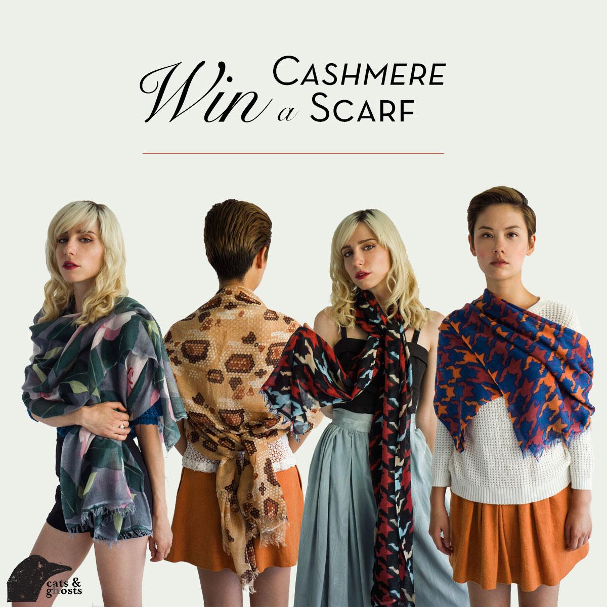 Win a Cashmere Scarf